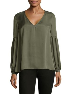 The Maya Long-Sleeve Blouse