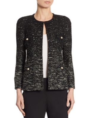 Tweed Ombre Jacket