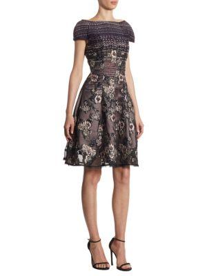 Floral Cocktail Dress