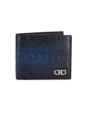 Ostrich Leg Bi-Fold Wallet