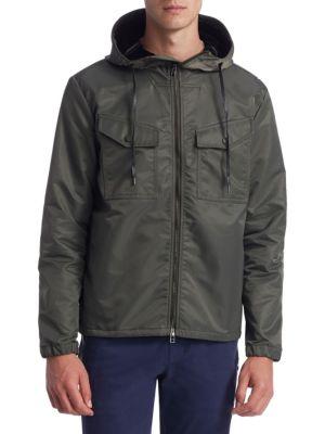 MADISON SUPPLY Bonded Zip Hooded Jacket