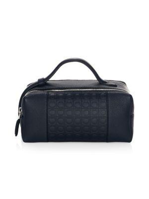 Gancio Leather Dopp Kit
