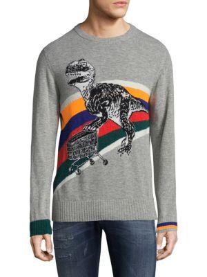 Dinosaur Crewneck Sweater