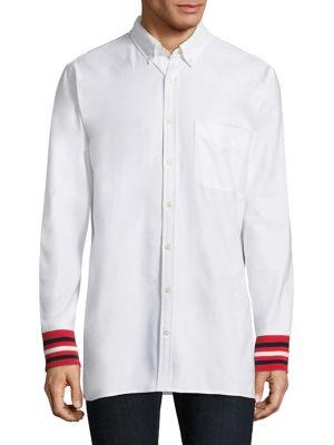 Classic Oxford Cotton Casual Button-Down Shirt