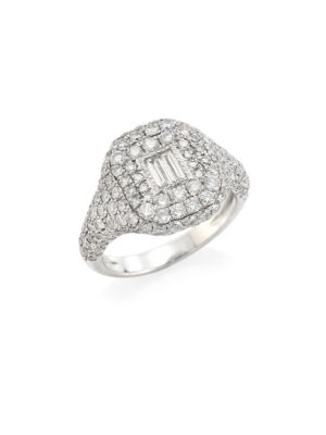 Essentials Pave Diamond Pinky Ring