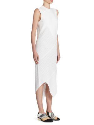 Asymmetric Wool Knit Dress
