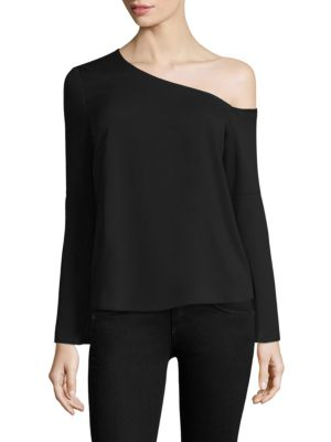 COOPER & ELLA ELIN ONE-SHOULDER TOP