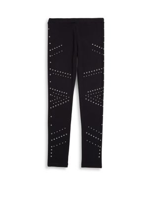 Girl's Beaded Leggings