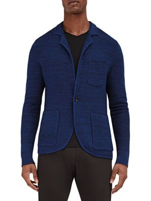 EFM-ENGINEERED FOR MOTION Mast Knitted Wool Blazer