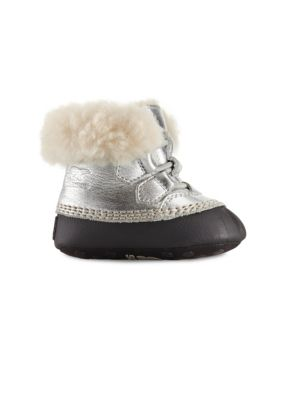 Baby's Shearling-Lined Boots