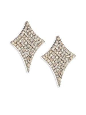 Diamond Pavé Stud Earrings