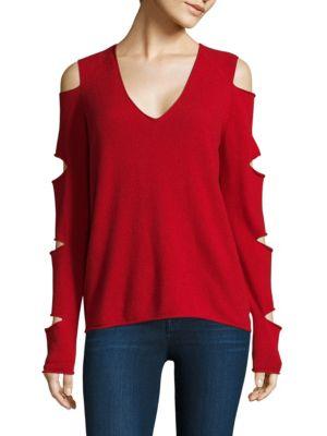 Tyrone Slash Sleeve Cashmere Sweater