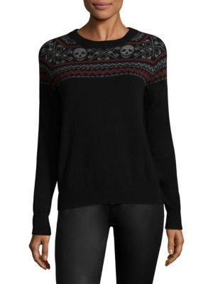 Miley Skull Cashmere Sweater