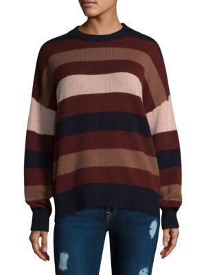 Laura Stripe Cashmere Sweater