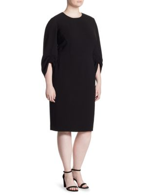 Erland Three-Quarter-Sleeve Dress