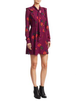 Aubree Floral Mini Dress