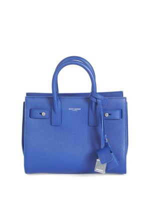 Nano Soft Sac De Jour Grain Leather Carryall Bag