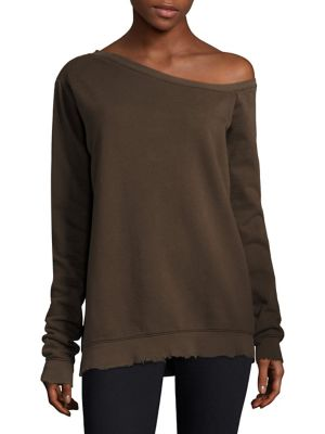 Claudine One-Shoulder Sweater