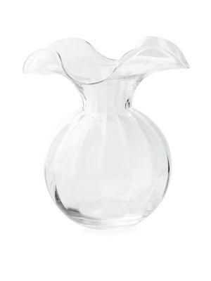 Hibiscus Medium Fluted Vase