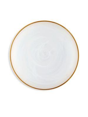 Alabaster Dinner Plate