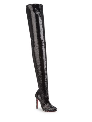 Louise Pailette Caresse Over-The-Knee Boots