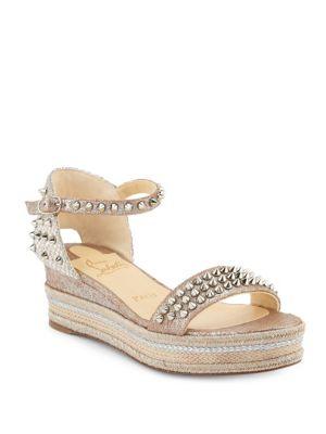 Madmonica Leather Espadrille Sandals