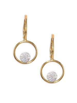 Affair Diamond Micro Infinity Loop Earrings