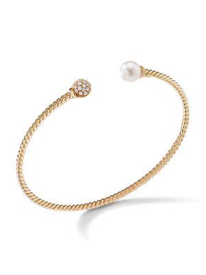 Solari Diamond & Pearl Bracelet