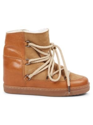 Nowles Shearling Snow Booties
