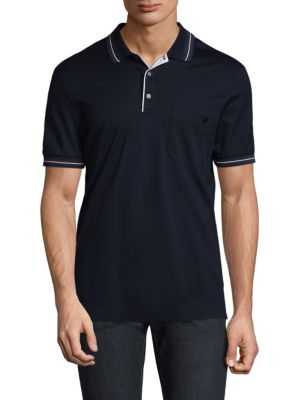 Short Sleeve Cotton Polo