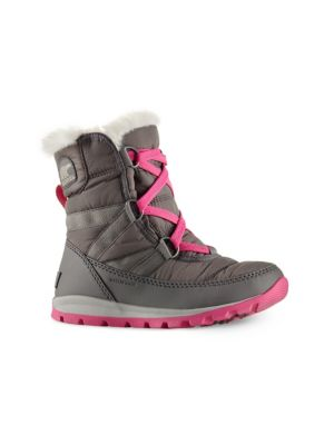 Toddler's & Kid's Whitney Short Lace Quarry Boots