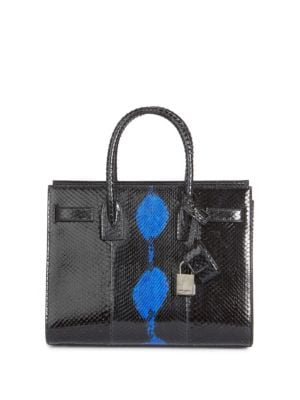 Baby Sac De Jour Python Carryall Bag