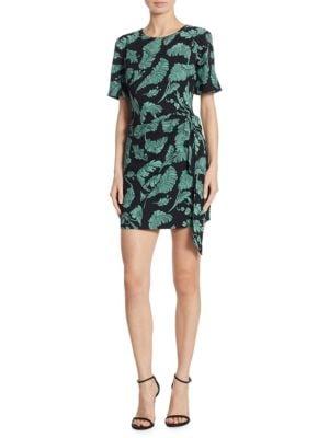 Bia Palm Print Dress