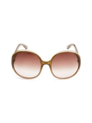 Gradient 57MM Oval Sunglasses