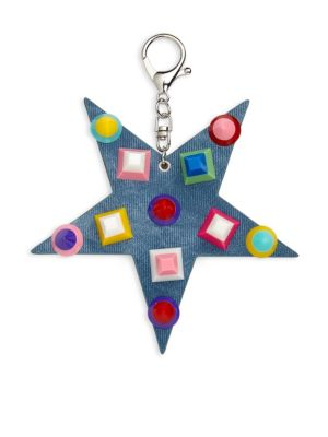 Studded Star Keychain