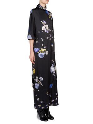 Floral Mockneck Dress
