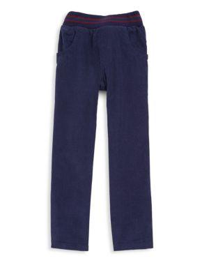 Baby's, Toddler's & Little Boy's Elasticized Cotton Pants