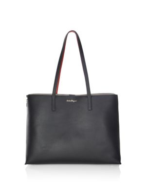 Jet Set Leather Tote