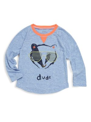 Baby's, Toddler's & Little Boy's Asher Long Sleeve Top