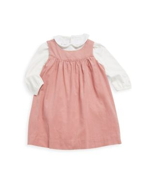 Baby's Two-Piece Corduroy Jumper & Bodysuit Set