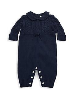 폴로 랄프로렌 남아용 아기 커버올 우주복 Polo Ralph Lauren Baby Boys Coverall,Cruise Navy