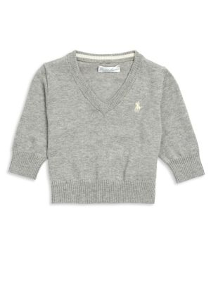 Baby's V-Neck Sweater