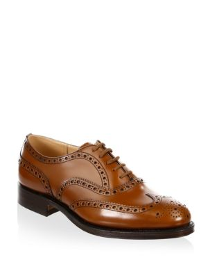 Burwood Wingtip Leather Oxfords