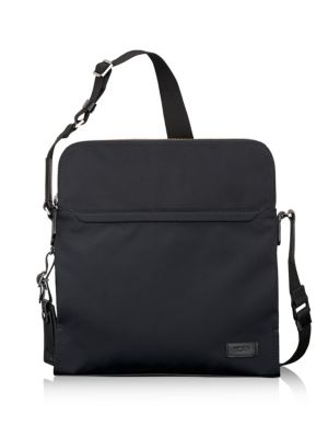 HARRISON STRATTON MESSENGER BAG - BLACK