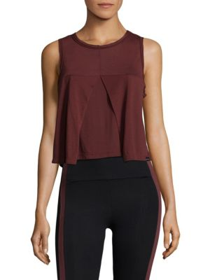 Stack Sleeveless Crop Top by KORAL