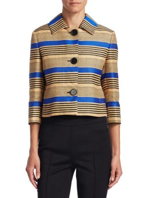 Striped Linen Jacket