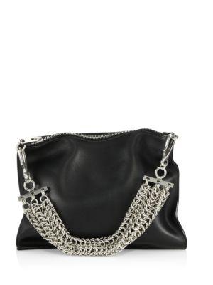 ALEXANDER WANG Genesis Leather Chain-Handle Bag