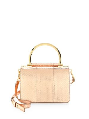 Flap Leather Convertible Clutch