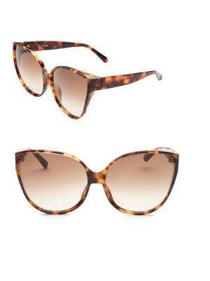 656 C3 Oversize Cat Eye Sunglasses