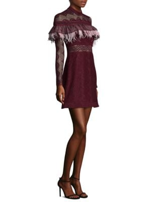 Wildfire Embroidered Lace A-Line Dress